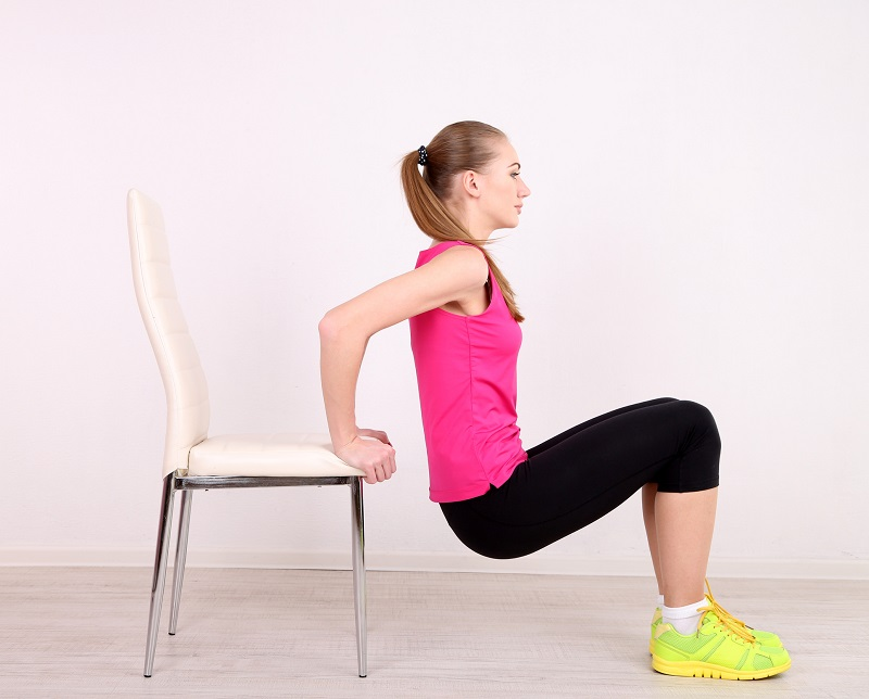 chair home workout
