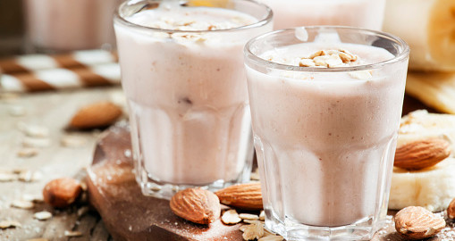 Why Are Smoothies Good for You Healthy Creamy Almond Vanilla Smoothie