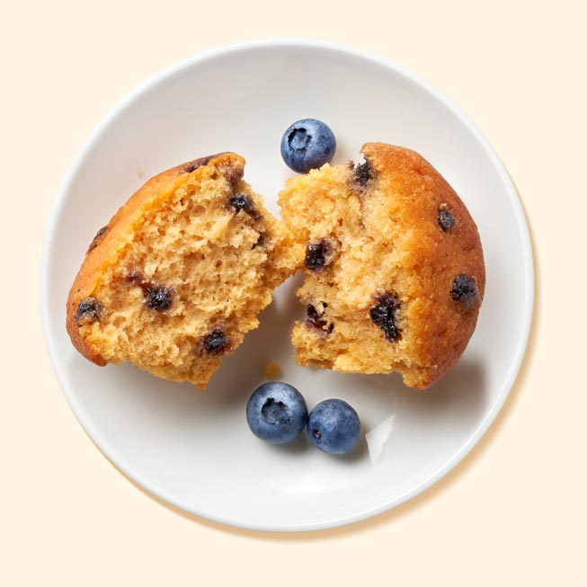 Blueberry Breakfast Muffin to lose weight