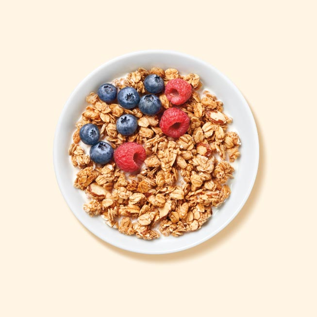 Granola Cereal breakfast to lose weight