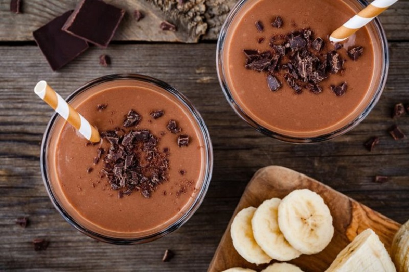 morning coffee cacao power smoothie