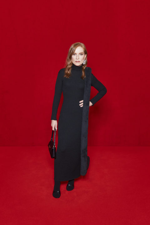 Balenciaga and The Simpsons Red Carpet:Isabelle Huppert